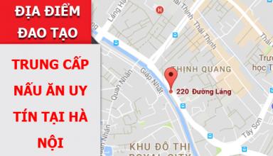 Cơ sở đào tạo nấu ăn uy tín tại Hà Nội